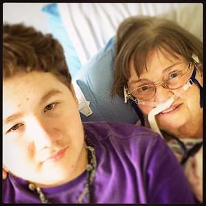 Ann Posner in Hospital