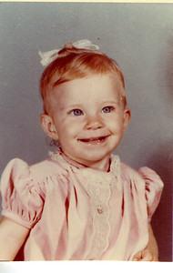 See, I had red hair naturally as a kid.  Briefly.  Before it went back to super blond.