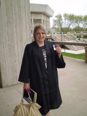 Anna graduates from Iowa State