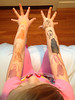 Body art, a la Annabel