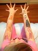 Body art, a la Annabel