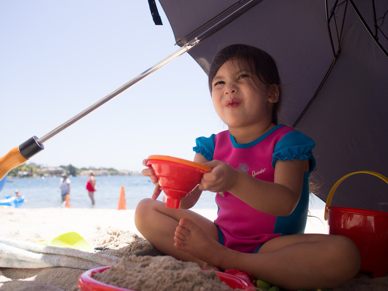 Beach day at Lake Mission Viejo