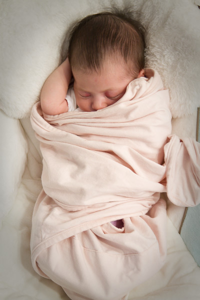 Annalise sleeping