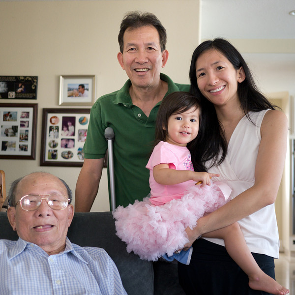 Four Generations in One Photograph