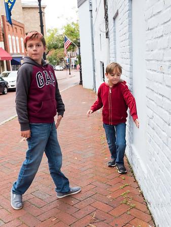 The boys on a back street, Annapolis.
