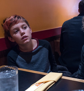 At Nano Sushi on Annapolis' Main Street. Lunch with the kids.