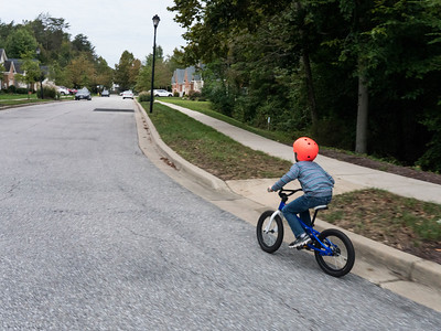 Between Saturday and Sunday, Sammy and I logged 10 miles on our bikes. Fun!