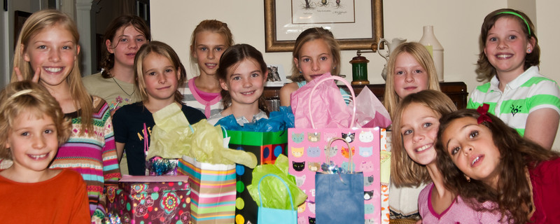 Anna's 10th Birthday Party