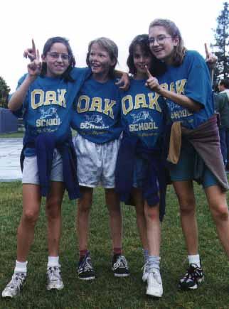 Oak track team