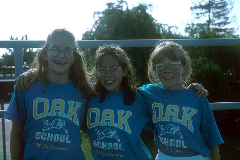 3 Oak track stars