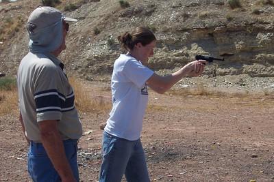 Annie loves shooting