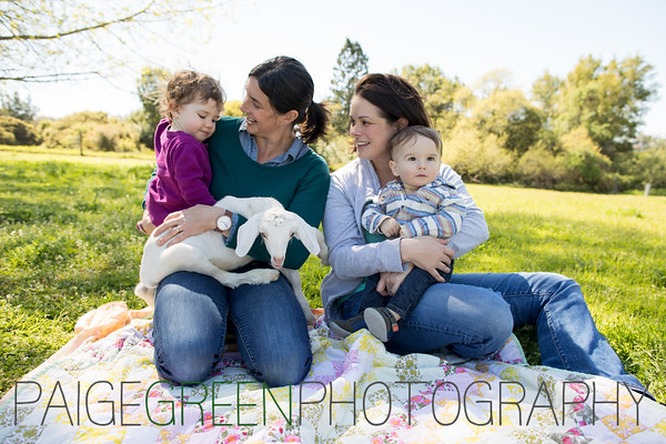 Annie & Kathy Farm Family Photos - 4/17