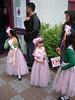 Annie and friends still in Quadling costume