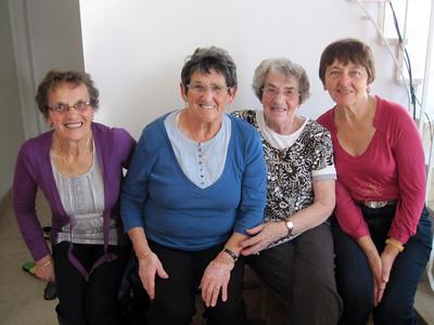 Maman, Anne-Marie, Bernadette & Evelyne