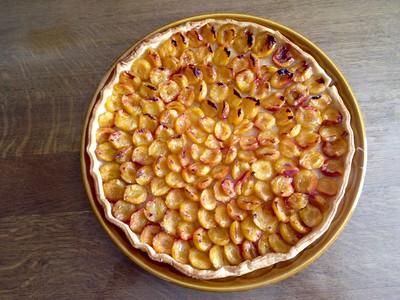 La bonne tarte aux mirabelles fraiches