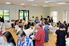 Family and friends at our celebration in the Herndon Virginia Community Center <br /> <br /> (John Hughes-Caley Photo)