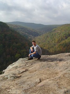 Hawksbill Crag (A.K.A. Whitaker Point)  Buffalo National River.  Photo by Kate.