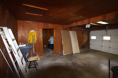 IMG_6794 - garage looking toward the canning room / utility room.