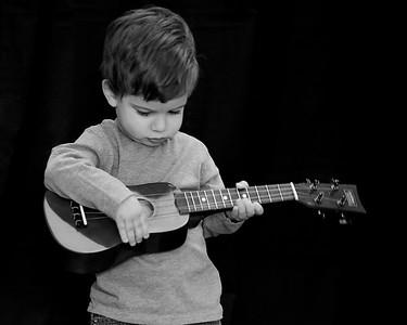 Anthony Guitar Gorman B&W