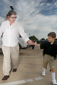 Aug. 19, 2009 - Anthony's first day of school