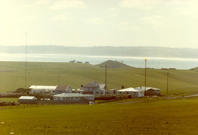Chatham Islands Radio Station (Marine Communications) and accommodation. I worked here 1981-1982.