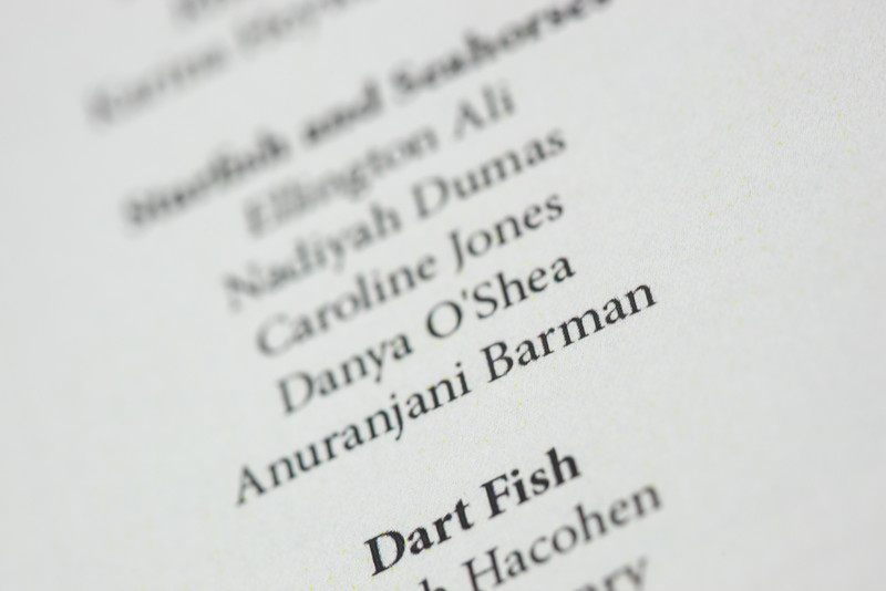 20160514 7-year-old Anuragini (1315) - Anu's misspelled name in 'The Little Mermaid' program