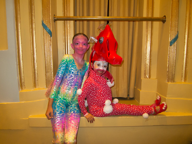 00aFavorite 20160513 7-year-old Anuragini (2118) - 'The Little Mermaid' F night special needs performance-2 - w flying fish Devon Cholon