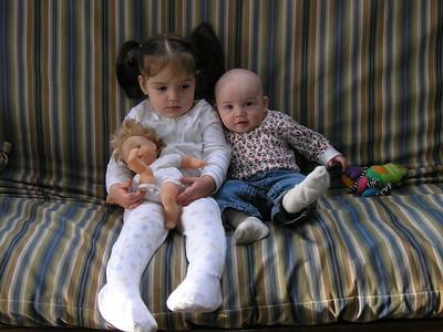 Anya still watching Daddy; Guen thinking.