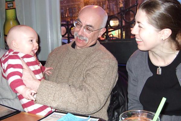 Smiling at Jen and Lama Joe.