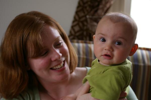 Anya and Megan (Maddie's mom).