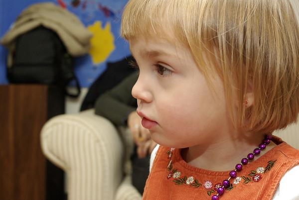 Anya at playgroup.