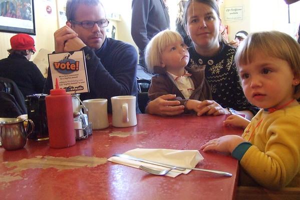 Breakfast at Renee's.