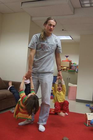 Daniel becomes a carnival ride.