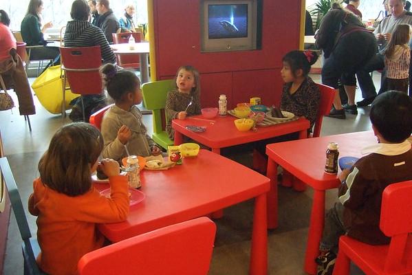 Ikea kids' cafeteria.