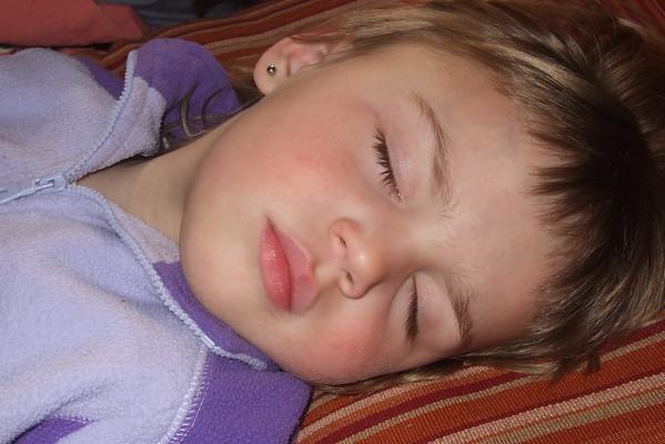 Spontaneous nap.