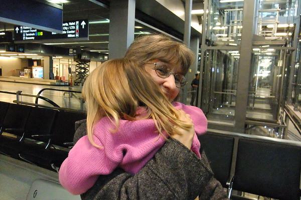 Hug for Nana.