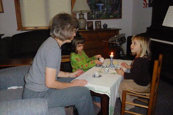 Nana means tea parties!