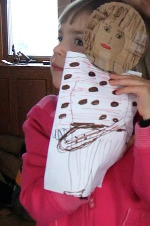 Anya Girl and Anya Puppet.
