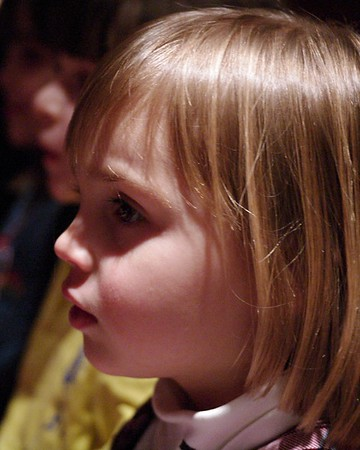 Anya in the audience.