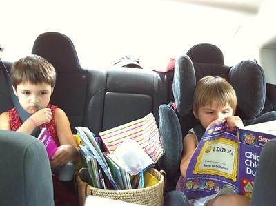 Road-trip activities.