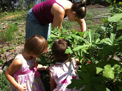 Gardening with Jen.