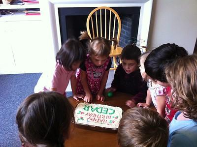 Happy Birthday, Cedar!
