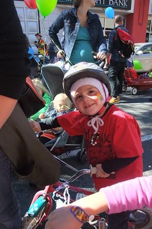 Anya in the parade.