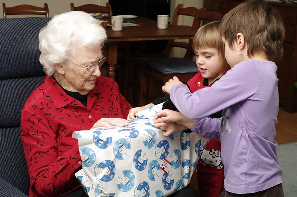 Present for Grandma.
