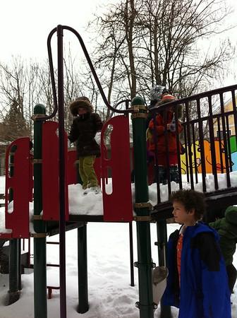 Cold playground.