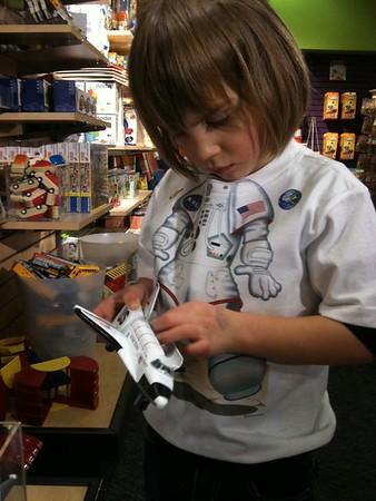 Shuttle astronaut Anya.