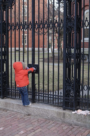 Anya leaves her baby to try to get into Harvard.