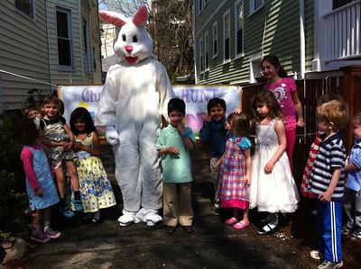 Easter line-up.