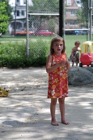 At the playground.