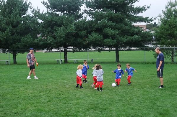 Anya's soccer team.